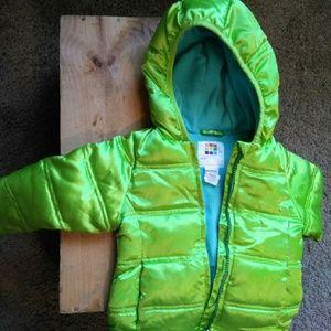 Girl Winter Puffer Coat